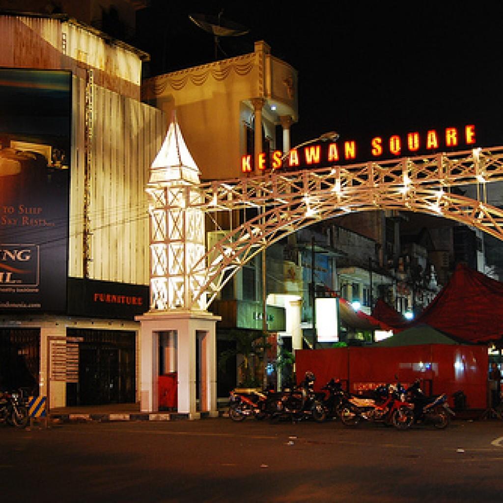 Kesawan Square Wisata Kuliner Medan Kota