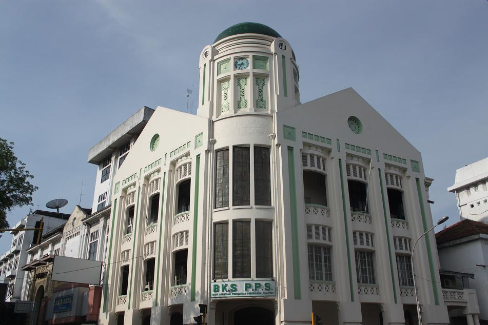 Medan Unexpectedly Interesting Amazing World Green Domed Dutch Colonial Building