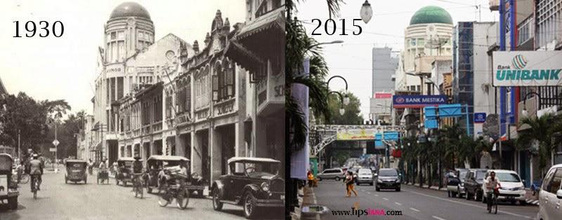 Potret Kota Medan Tempo Dulu Tipsiana Dulunya Bernama Jalan Kesawan