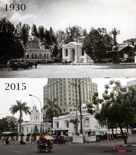 Potret Kota Medan Tempo Dulu Tipsiana Sebagai Pusat Pemerintahan Gedung
