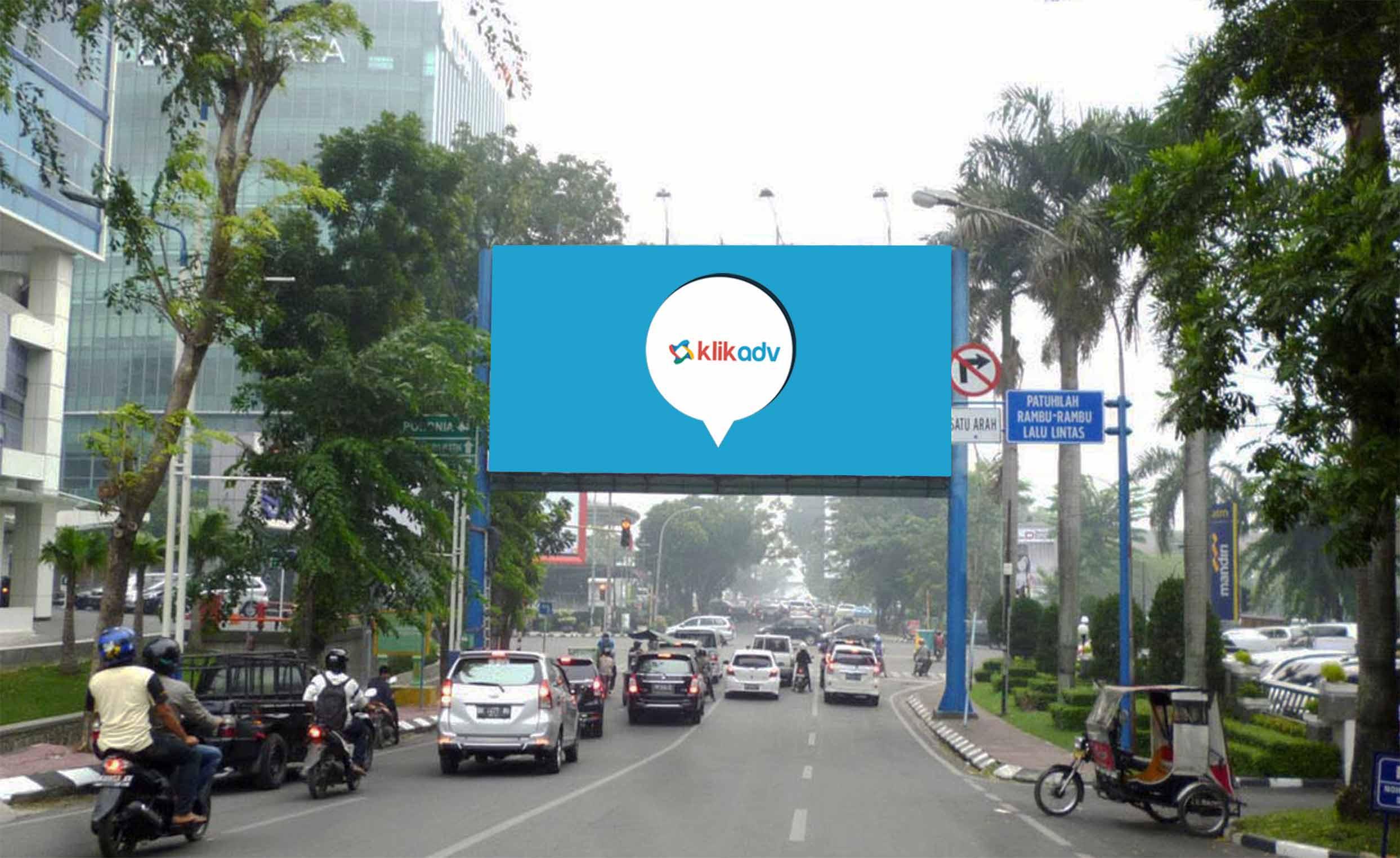 Sewa Billboard Sumatera Utara Kota Medan Jl Mayjend Sutoyo Bd