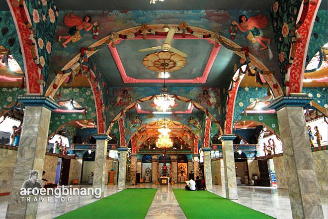 Aroengbinang Kuil Shri Mariamman Medan Kota