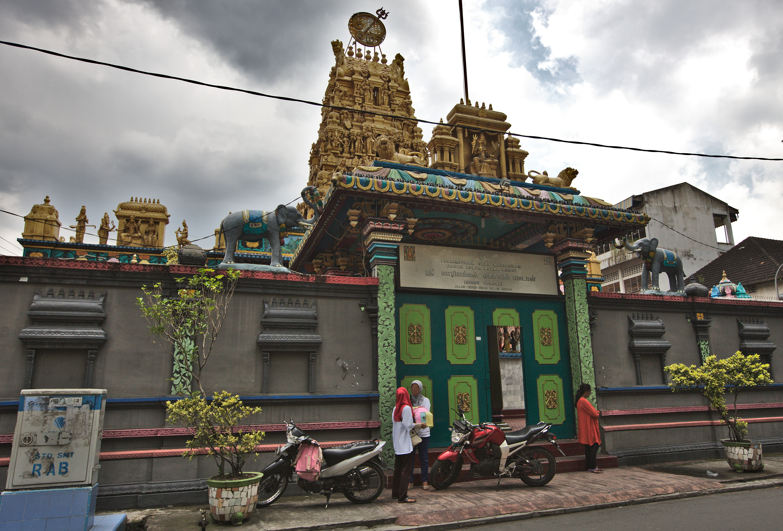 File Perhimpunan Shri Mariamman Hindu Temple Medan Jpg Kuil Kota