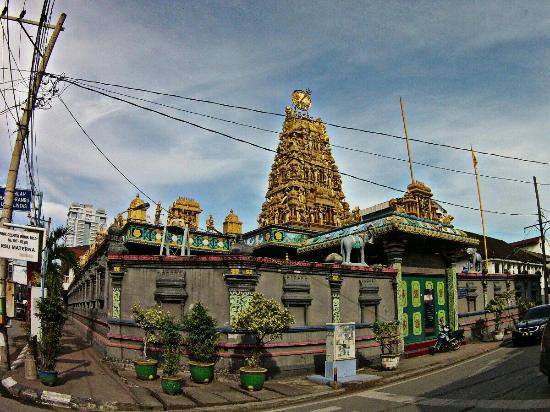 Golden Temple Beautiful Interior Design Foto Kuil Shri Mariamman Kota