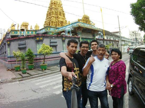 Golden Temple Beautiful Interior Design Picture Shri Mariamman Kuil Kota