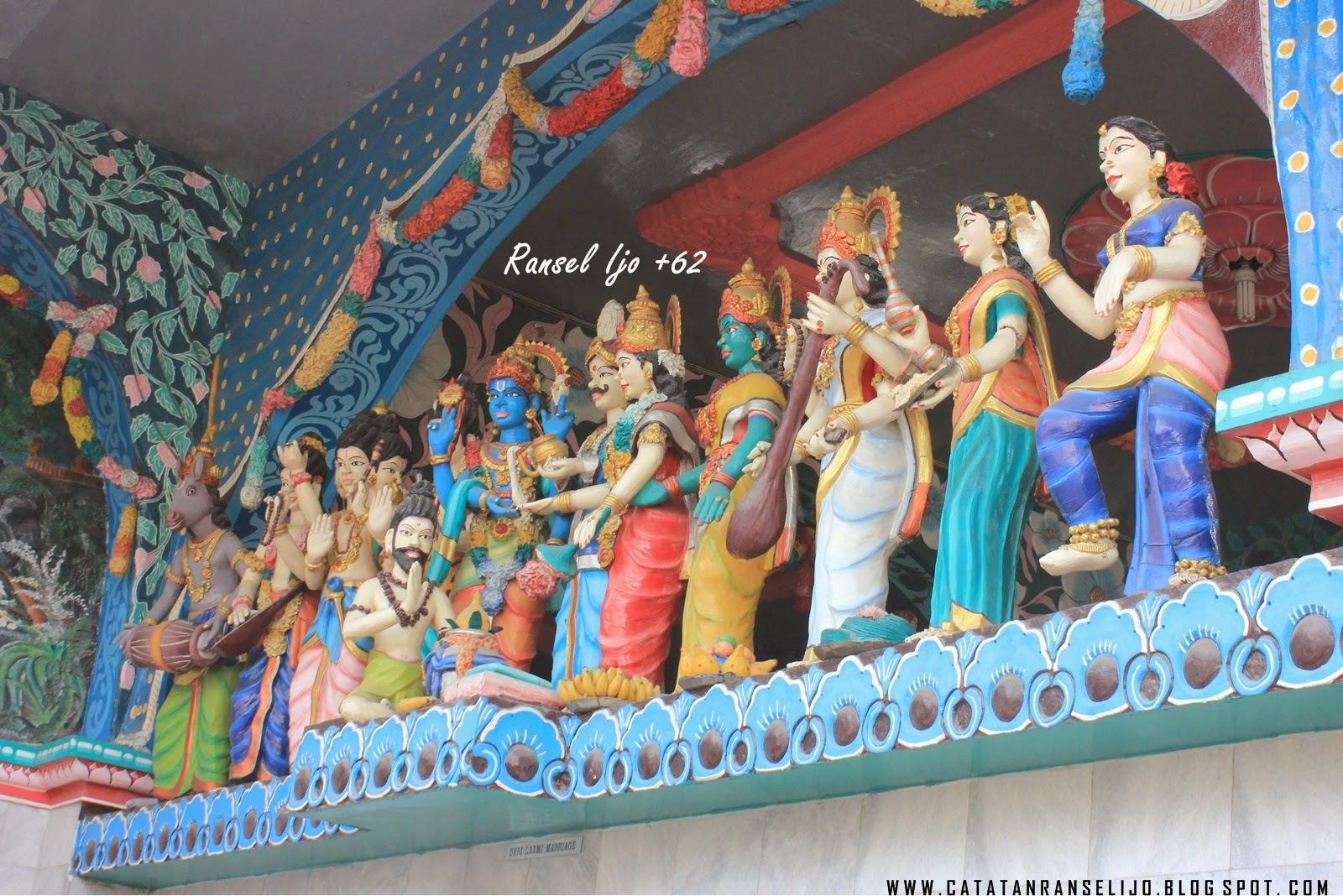 Kak Gedungnya Wow Shri Mariamman Temple Medan Ransel Ijo 62