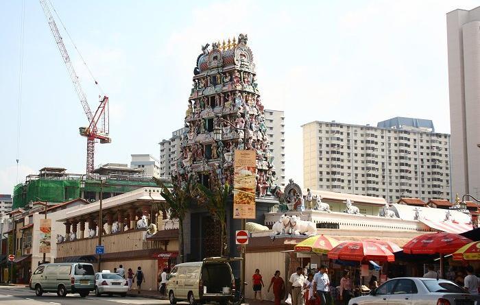 Klenteng Hindu Shri Marimman Bumi Nusantara Kuil Mariamman Tertua Kota