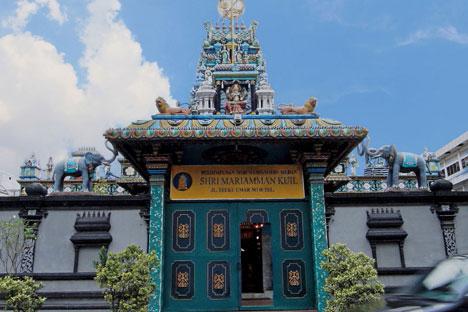 Kuil Shri Mariamman Hindu Pertama Medan Panduan Wisata Kota Sejarah