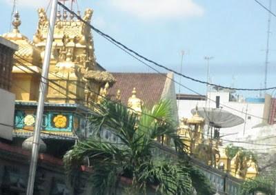 Kuil Shri Mariamman Kampong Madras Medan Semedan Kota