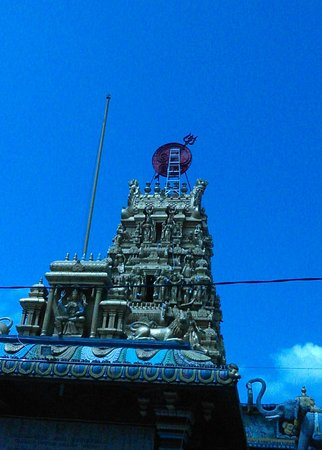 Kuil Shri Mariamman Kampung Madras Medan Picture Temple Kota