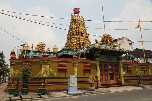 Kuil Shri Mariamman Kecamatan Medan Petisah Kota