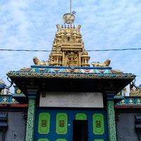 Kuil Shri Mariamman Medan Sumatera Utara Photo Ari 9 16