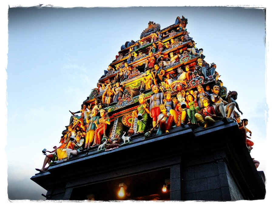 Kuil Shri Mariamman Medan Tempat Ibadah Skyscrapercity Http Moonchild000 Deviantart