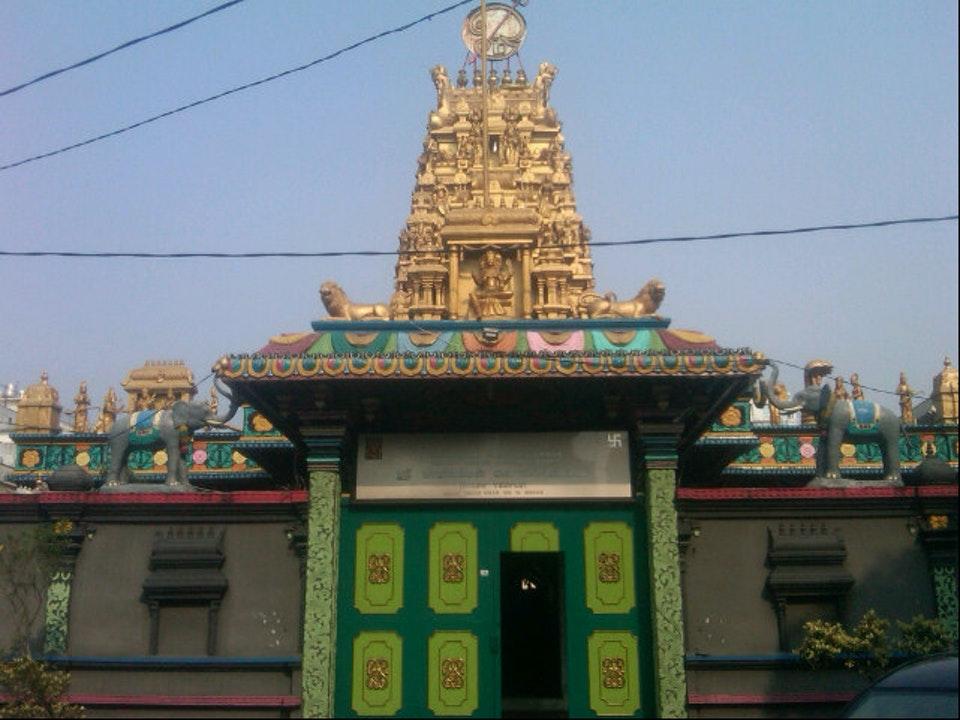 Kuil Shri Mariamman Medan Tempat Ibadah Skyscrapercity Https Foursquare 9f6068a