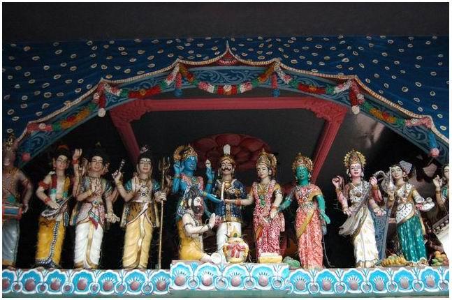 Roundtriptoparadise Kuil Shri Mariamman Medan Kota
