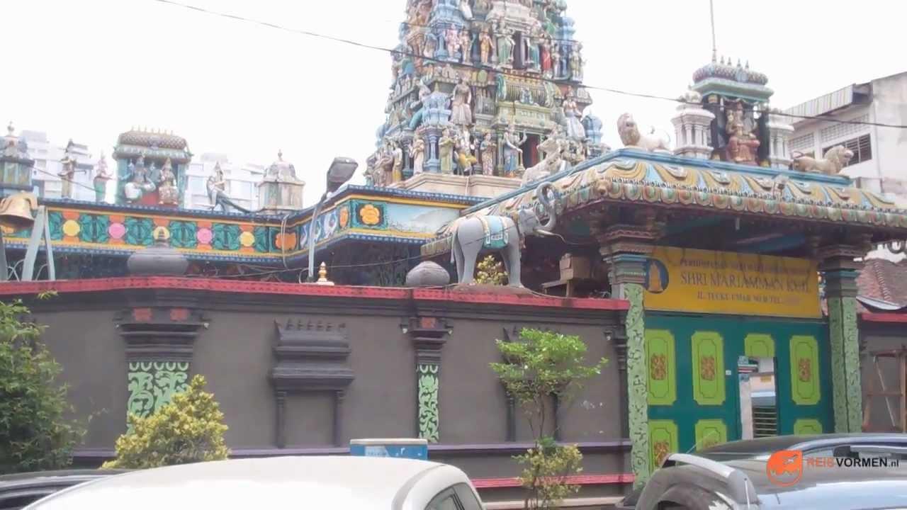 Shri Mariamman Kuil Temple Medan Youtube Kota