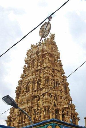 Shri Mariamman Temple Medan Tripadvisor Kuil Kota