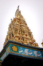Sri Mariamman Temple Medan Wikipedia Architecture Edit Kuil Shri Kota