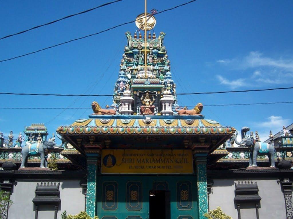 Tempat Wisata Religi Kota Medan Wajib Kuil Shri Mariamman Sejarah