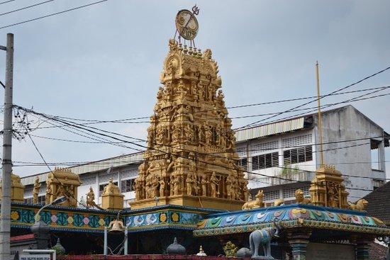 Temple Picture Shri Mariamman Medan Tripadvisor Kuil Kota
