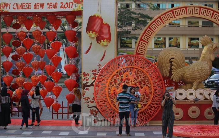 Lampu Lampion Imlek Maha Vihara Maitreya Medan Foto 6 1686138