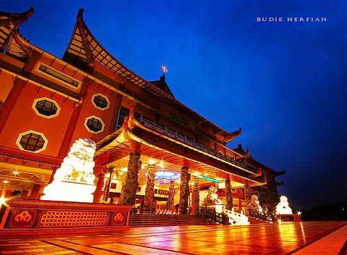 Maha Vihara Adhi Maitreya Objek Wisata Sumatera Utara Harmoni Kota