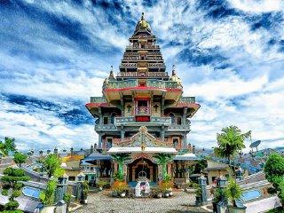 Maha Vihara Maitreya Cemara Asri Medan Attraction Marian Shrine Annai