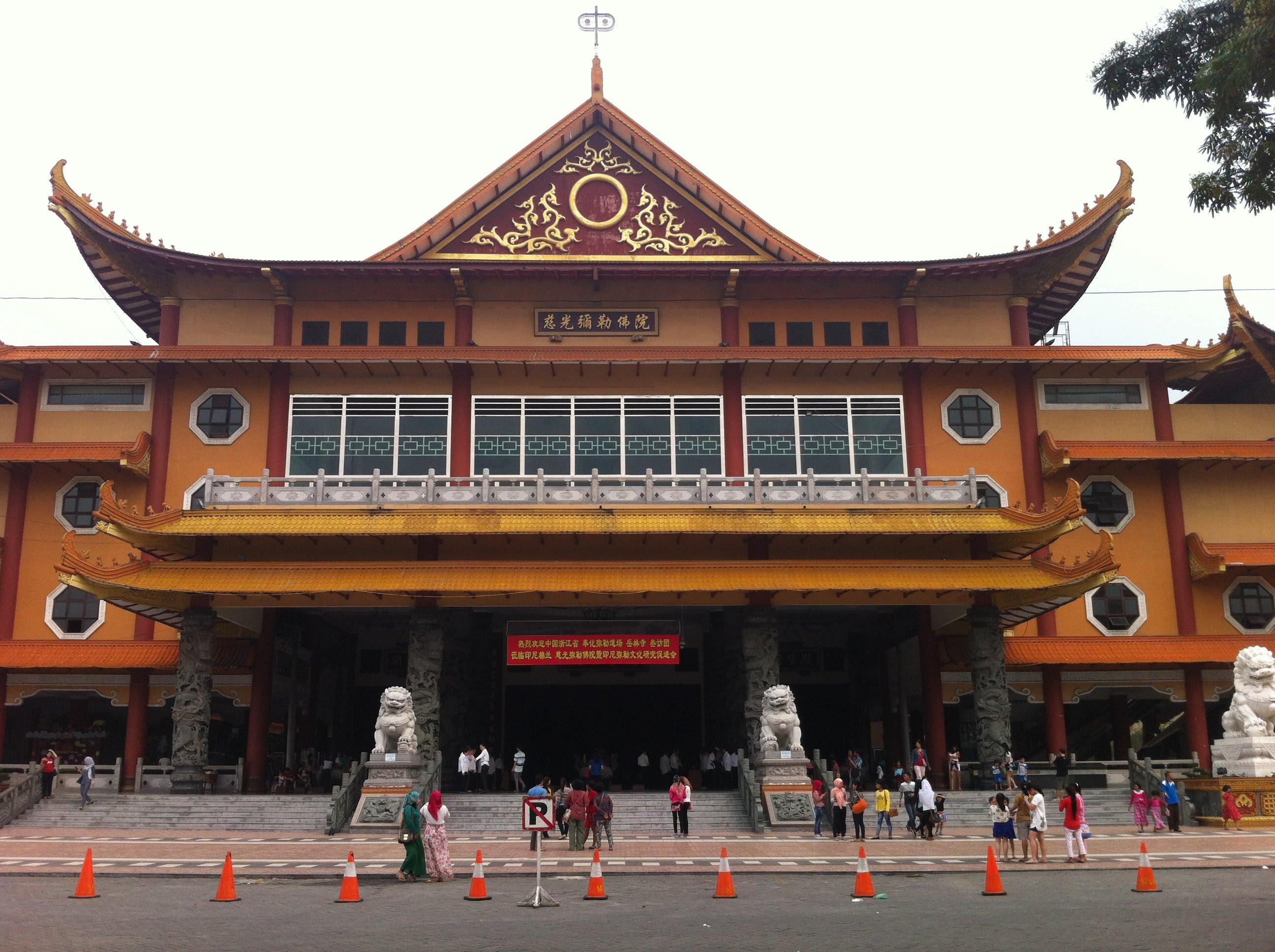 Maha Vihara Maitreya Cemara Asri Medan Youtube Kota