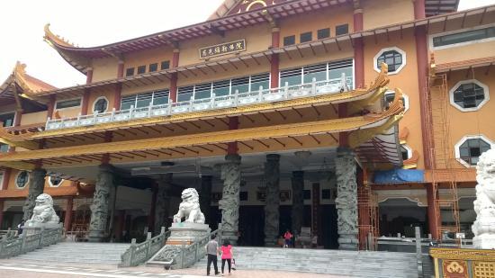 Maha Vihara Maitreya Cemara Asri Panoramic View Picture Photo Kota