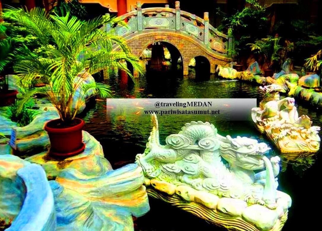 Maha Vihara Maitreya Medan Terbesar Indonesia Pariwisata Sumut 20371 Sumatra