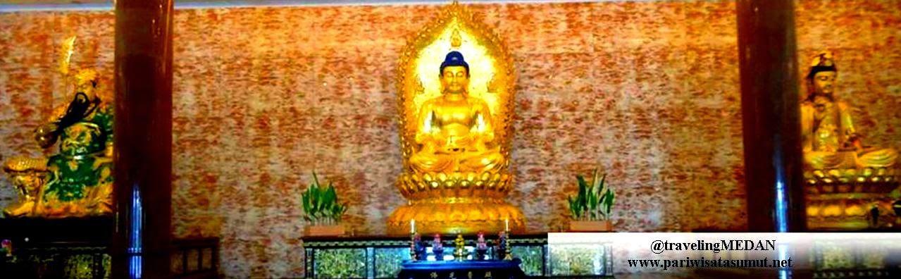Maha Vihara Maitreya Medan Terbesar Indonesia Pariwisata Sumut Kota