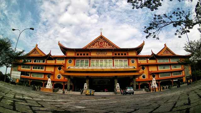 Maha Vihara Maitreya Tourism Spot Visit Medan Kota
