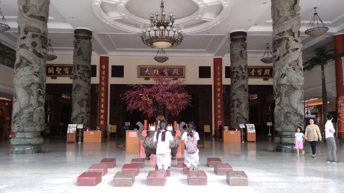Persiapan Maha Vihara Maitreya Medan Rayakan Cap Meh Kota