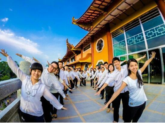 Photoshoot 3rd Floor Temple Maha Vihara Maitreya Cemara Asri Kota