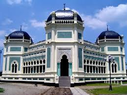 5 Destinasi Wisata Religi Medan Masjid Raya Al Mashun Sebuah