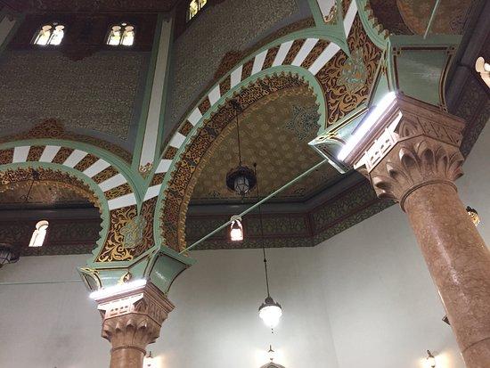 Al Mashun Grand Mosque Picture Medan Design Interior Masjid Raya