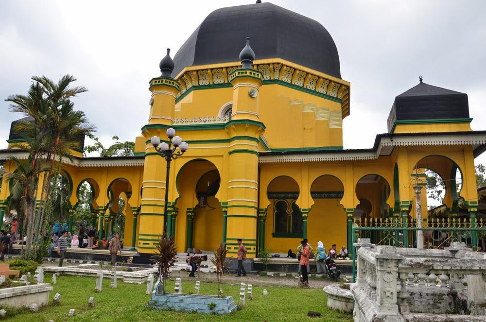 Budaya Pariwisata Penetapan Cagar Mesjid Raya Al Osmani Diadakannya Kegiatan