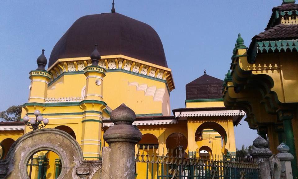 Masjid Al Osmani Tertua Kota Medan Arsitektur Perpaduan