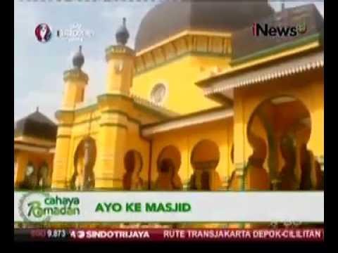 Masjid Al Osmani Tertua Kota Medan Youtube