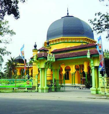 Masjid Bersejarah Sumatera Utara Berita Serbi Cektkp Al Osmani Master
