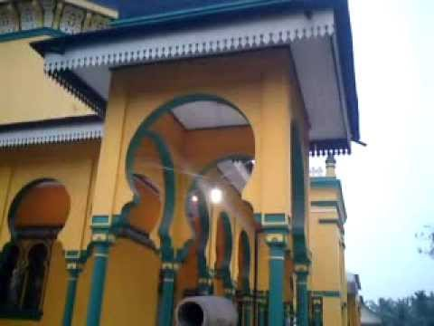 Masjid Raya Al Osmani Medan Labuhan Youtube Kota