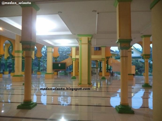 Masjid Raya Al Osmani Medan Sumatera Utara Wisata Life Kota
