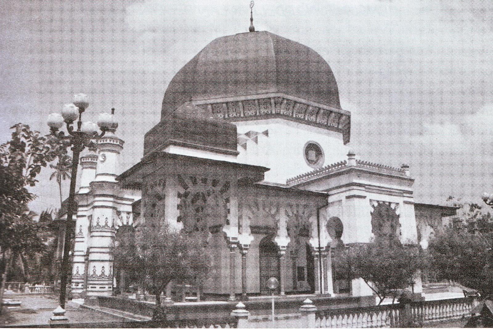 Rindu Masjid Al Osmani Tertua Kota Medan Foto Pussisunimed