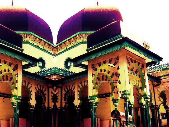 Rindu Masjid Al Osmani Tertua Kota Medan Rancangan Cordoba Spanyol