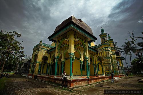 Rindu Masjid Al Osmani Tertua Kota Medan