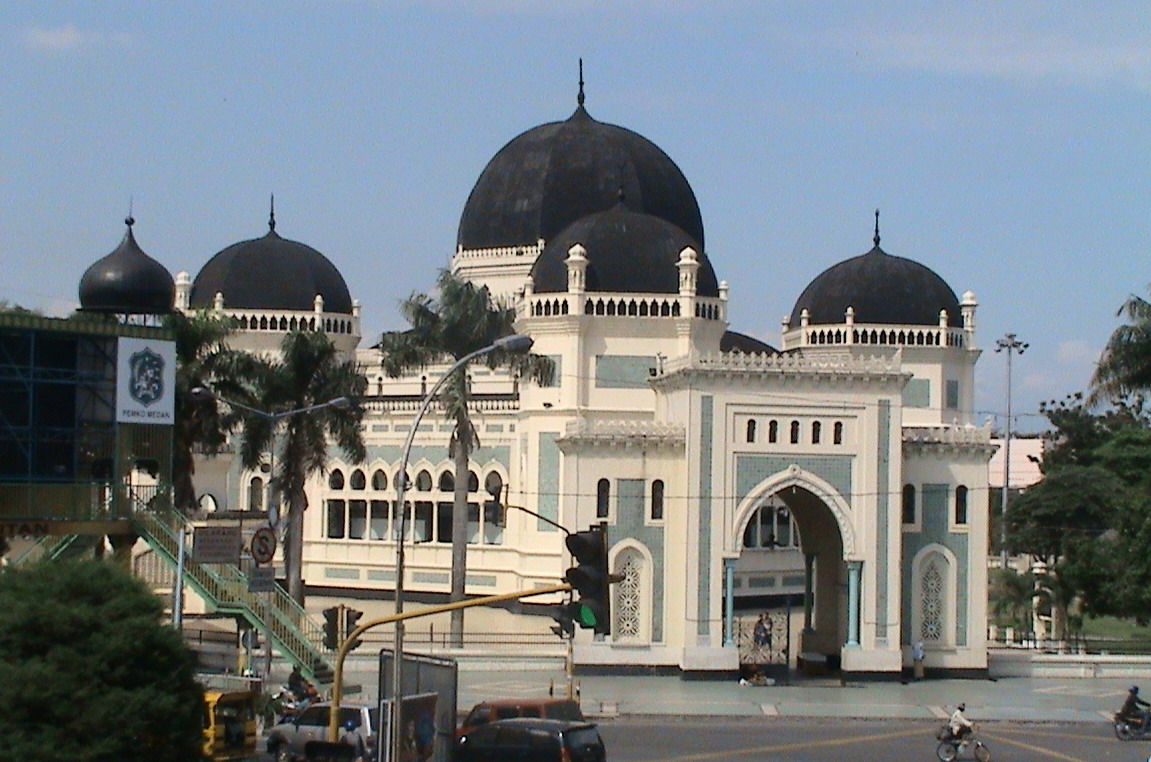 Rindu Masjid Raya Al Mashun Medan Sumatera Utara Kokoh Meski