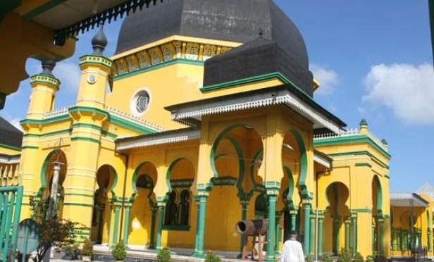 Tertua Kota Medan Mesjid Al Osmani Masjid