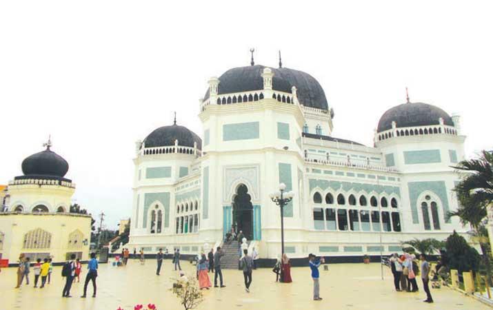 Berita Istana Maimun Bangunan Ikonik Harian Analisa Masjid Raya Medan