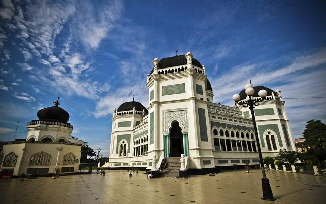 Berkas Masjid Raya Medan Jpg Wikipedia Bahasa Indonesia Kota
