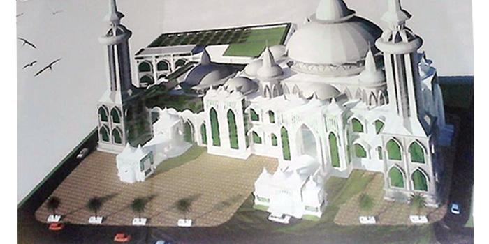 Direnovasi Dikabarkan Mesjid Agung Medan Jadi Termegah Masjid Raya Kota